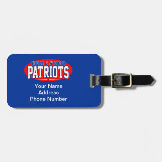 Homewood High School; Patriots Tag For Bags