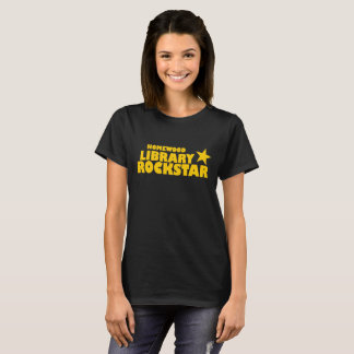 Homewood Library Rockstar Women's Tshirt