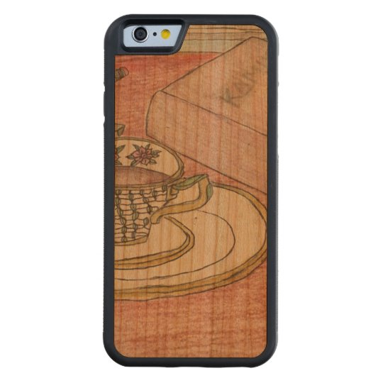 Homework Art Carved Cherry iPhone 6 Bumper Case