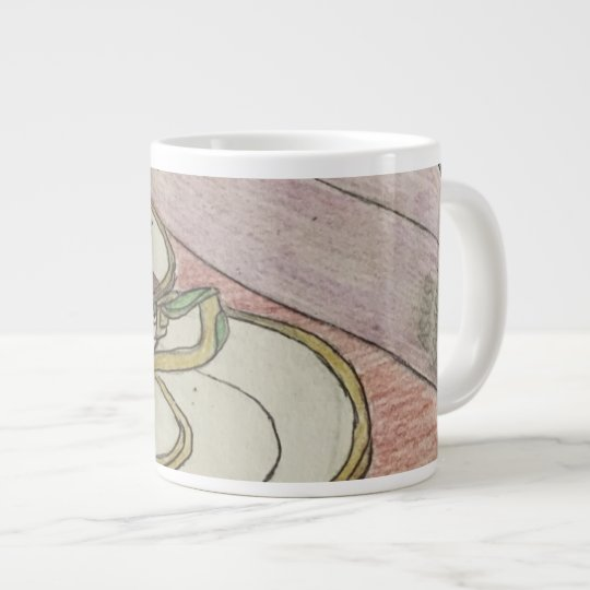 Homework Art Large Coffee Mug