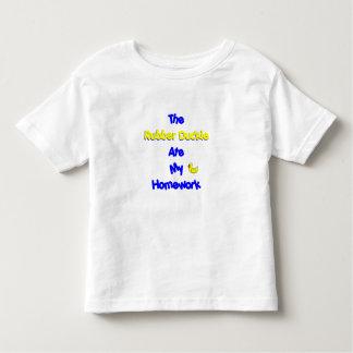 homework excuse toddler t-shirt