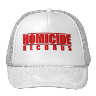 Homicide Records Hat