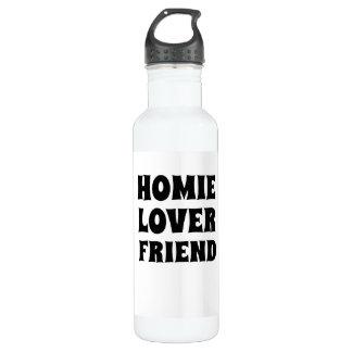 Homie Lover Friend Water Bottle