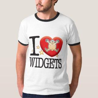Homme d'amour de gadgets t-shirt