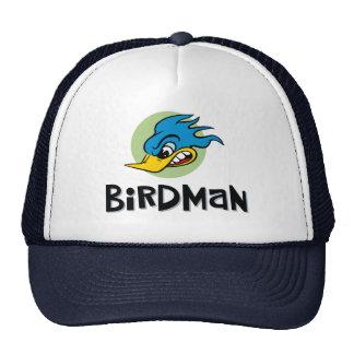 Homme d'oiseau casquettes