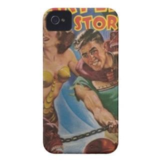 Hommes rouges de singe dans les chaînes étui iPhone 4