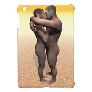 Homo erectus couple - 3D render iPad Mini Case
