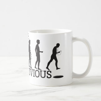 Homo Oblivious White Mug