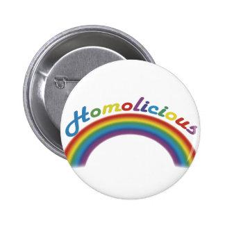 Homolicious 2 Inch Round Button