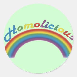 Homolicious Sticker