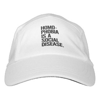 Homophobia is a Social Disease - - LGBTQ Rights -  Hat