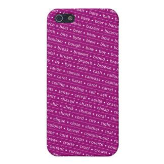 homophone iPhone 5/5S cases