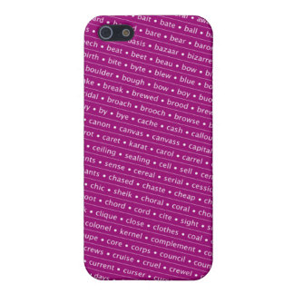 homophone iPhone 5 cover