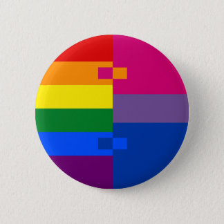 Homoromantic Bisexual Pin
