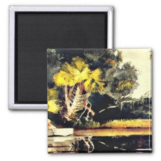 Homosassa, Jungle (Florida), Winslow Homer Magnet