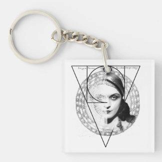 Homuncula: Pola Negri Keychain