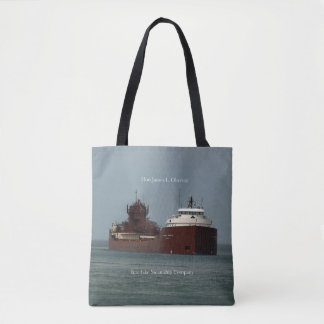 Hon James L. Oberstar all over tote bag