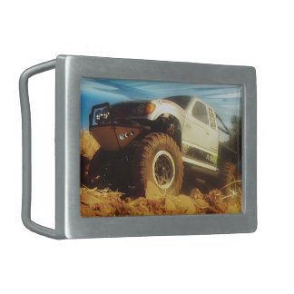 Honcho in the Sun Rectangular Belt Buckles