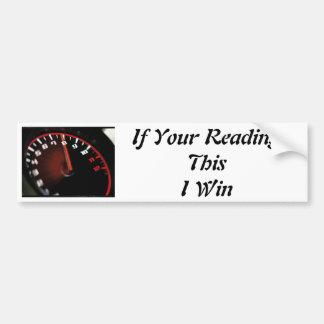 Honda Racing Car Bumper Sticker