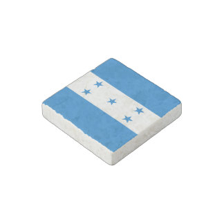 Honduran flag stone magnets