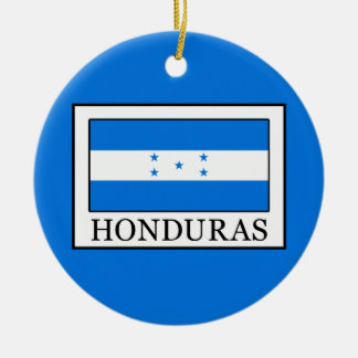 Honduras Ceramic Ornament