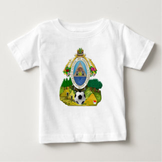 Honduras emblem coat of Arms soccer ball gifts Baby T-Shirt