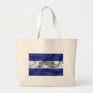 honduras-Flag Large Tote Bag