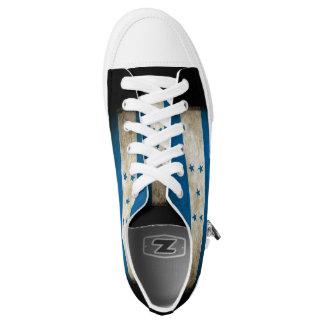 Honduras Flag Low-Top Sneakers