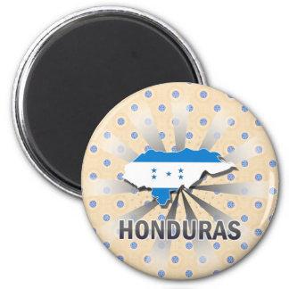 Honduras Flag Map 2.0 Magnet