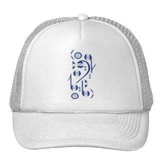 Honduras Flag Music Notes Trucker Hat