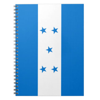 Honduras Flag Notebook
