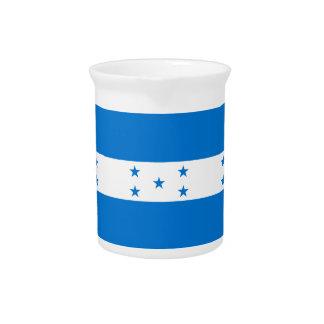 Honduras Flag Pitcher