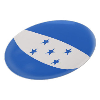 Honduras Flag Plate