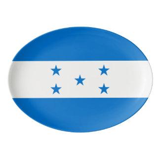 Honduras Flag Porcelain Serving Platter