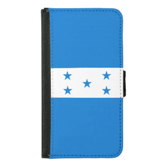 Honduras Flag Samsung Galaxy S5 Wallet Case
