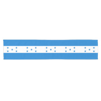 Honduras Flag Short Table Runner