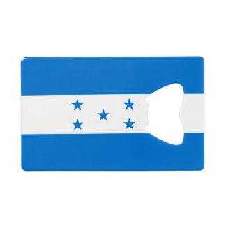 Honduras Flag Wallet Bottle Opener