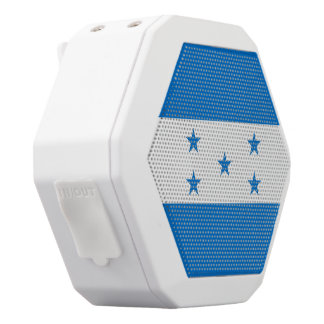 Honduras Flag White Bluetooth Speaker