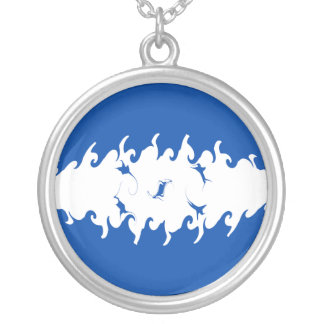 Honduras Gnarly Flag Personalized Necklace