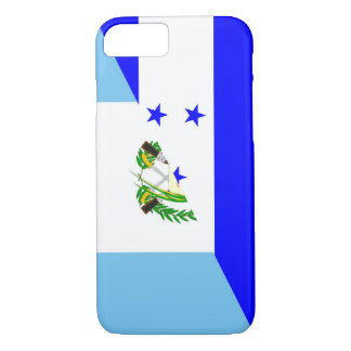 honduras guatemala country half flag symbol Case-Mate iPhone case