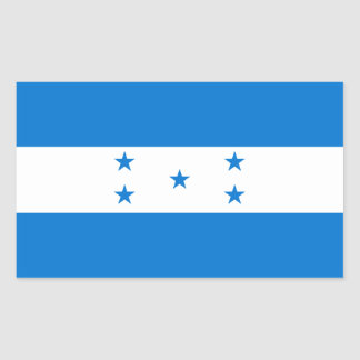 Honduras/Honduran Flag Sticker