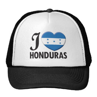 Honduras Love Trucker Hat