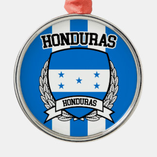 Honduras Metal Ornament
