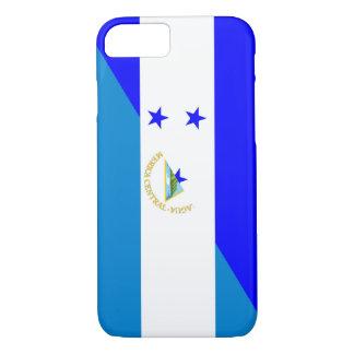 honduras nicaragua half flag country symbol iPhone 8/7 case
