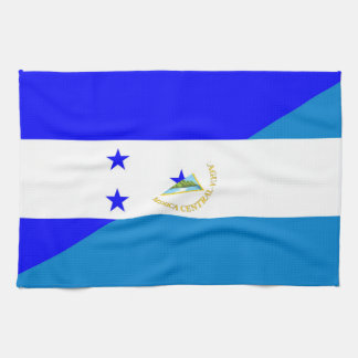 honduras nicaragua half flag country symbol kitchen towels