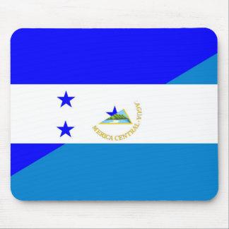 honduras nicaragua half flag country symbol mouse pad