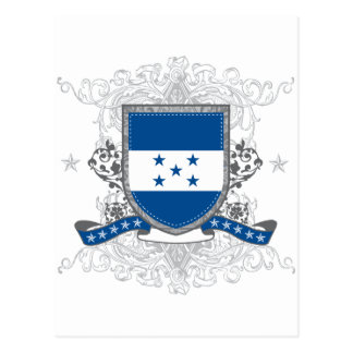 Honduras Shield Postcard
