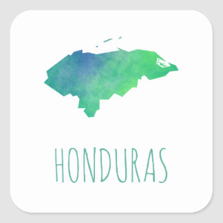 Honduras Square Sticker