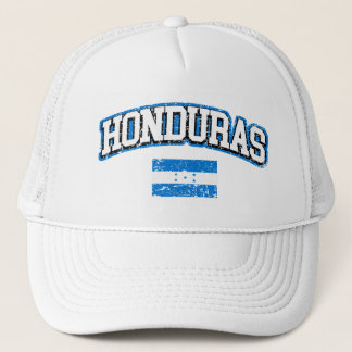 Honduras Vintage Flag Trucker Hat