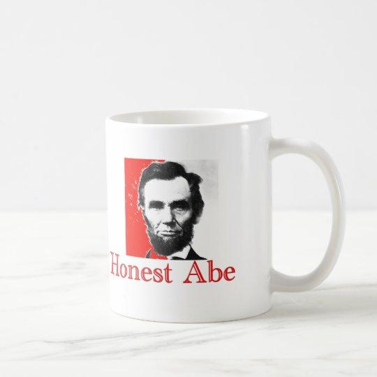 """Honest Abe"" Abe Lincoln Art T-Shirt & Gifts Coffee Mug"